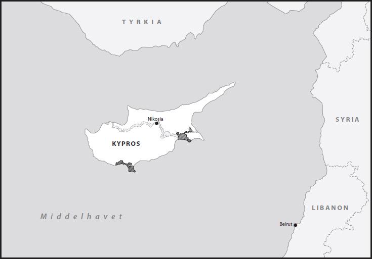 kypros kart