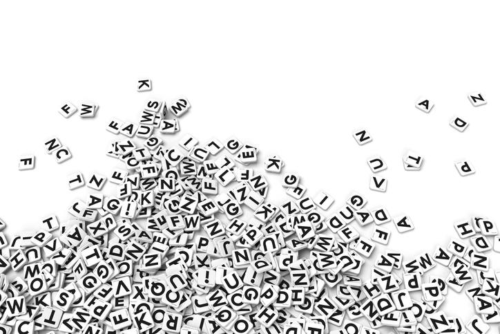 Bokstavhav. Latinske bokstaver kan være vanskelige for andrespråklige ved skriving