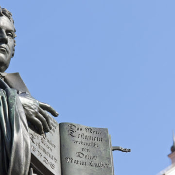 Monument av Martin Luther i Wittenberg, Tyskland. Foto: ThinkStock-185237726-typo-graphics