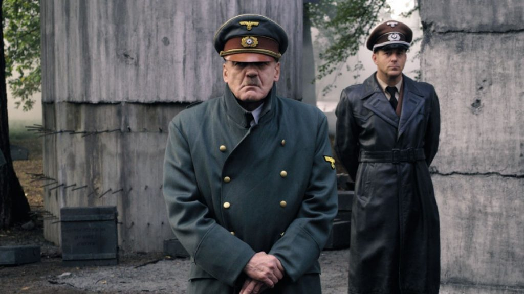 Adolf Hitler (Bruno Ganz) and Albert Speer (Heino Ferch) i Der Untergang (Foto: Sandrew Metronome).