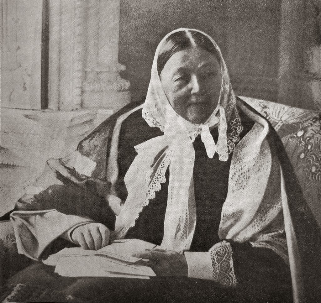 A portrait of nursing pioneer Florence