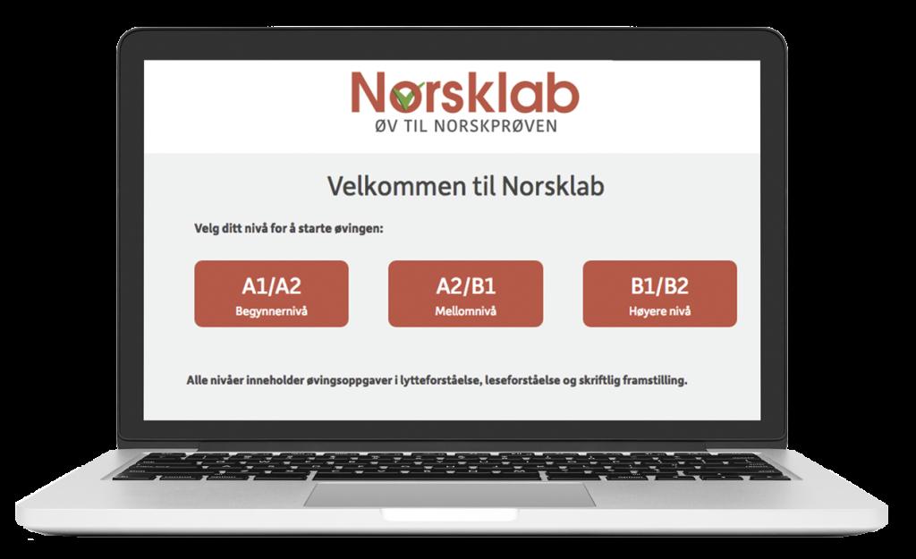 Norsklab skjermdump