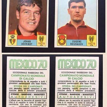 Sannsynlighetsberegning med fotballkort. Foto: By Panini, via Wikimedia Commons