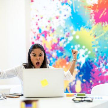 God følelse når man får tilbud om arbeidspraksis! Foto: FG Trade/GettyImages
