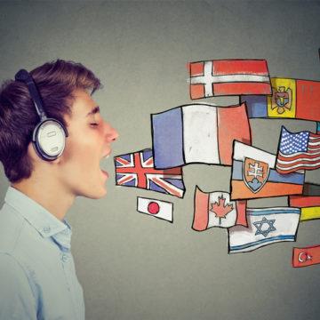 Gutt som snakker mange språk. Photo: Getty/SIphotography