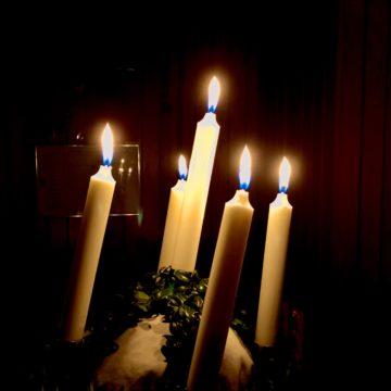 Lyskrans til Lucia-feiring