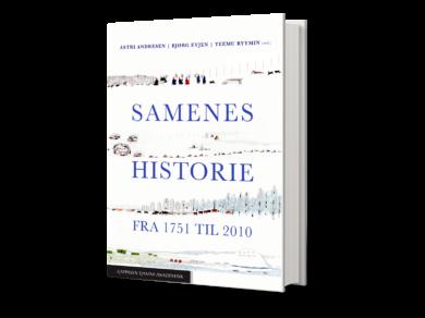 Omslag Samenes historie 1751 til 2010